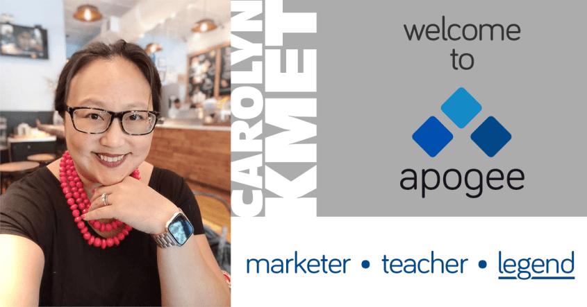 Carolyn Kmet Joins Apogee | Affiliate Program Management
