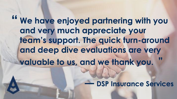 DSP Insurance testimonial