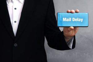 Mail Delay