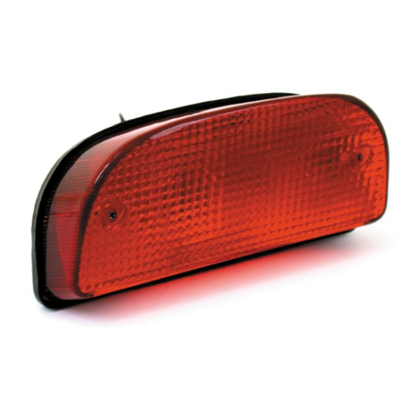 CUSTOM FATBOB TAILLIGHT | 80-86 FXWG; 84-99 FXST. With stock bobbed rear fender (NU); custom applications