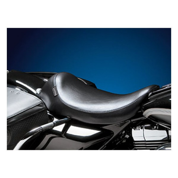 LePera, Silhouette solo seat. Smooth   97-01 FLHR Road King (NU)