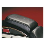 LePera, Bare Bones passenger seat. Smooth. Gel | 00-07 Softail with up to 150mm tire, frame mounted (excl. FXSTD Deuce)