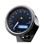 Velona 60mm tachometer 18000RPM, polished stainless  