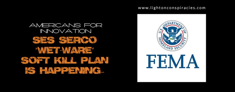 "SES SERCO ""WET-WARE"" SOFT KILL PLAN IS HAPPENING… 