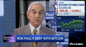 "Ron Paul: ""Cryptocurrency is a reflection of the disaster of the monetary dollar system"" (Video)"