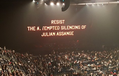 JOHN PILGER AND ROGER WATERS BACK JUNE VIGILS AND RALLIES FOR JULIAN ASSANGE