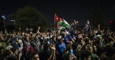 Hoe Jordanië protesteert tegen 'een bezetting'