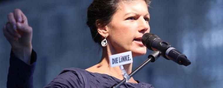Sahra Wagenknecht hält der Linkspartei eine Standpauke