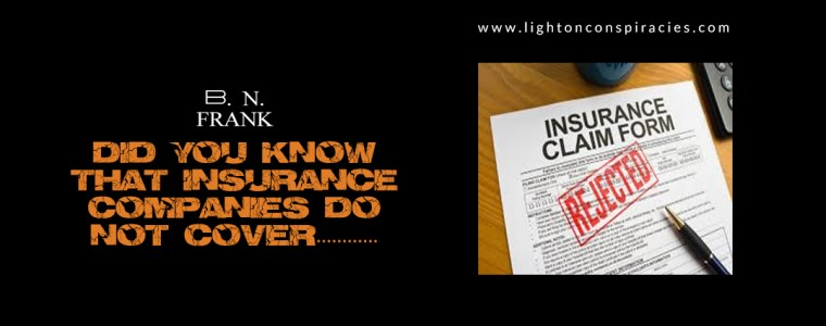 Did You Know That Insurance Companies Are Not Covering Cell Phone And WIFI Radiation Exposure Health Issues? How Lloyd's of London And Others Figure In.   Light On Conspiracies – Revealing the Agenda