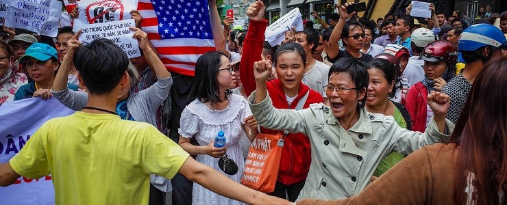 What's Really Behind Anti-China Protests in Vietnam? | New Eastern Outlook