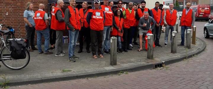 De grote staking in het streekvervoer en de solidariteit