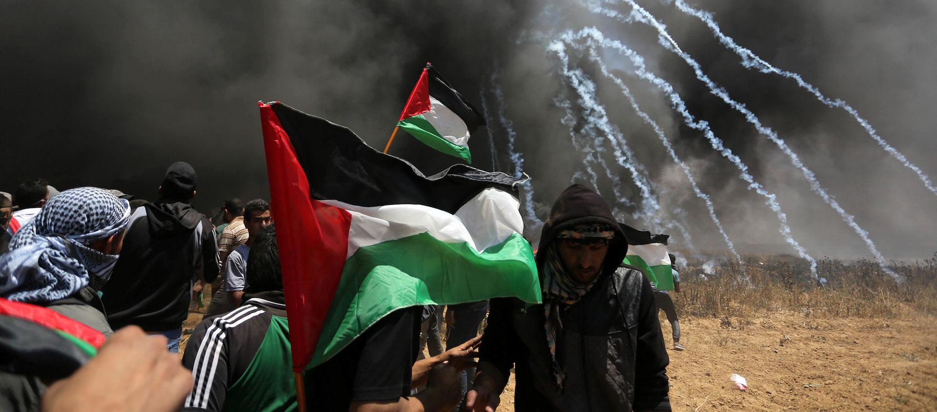 Israëlische militairen doden 55 Palestijnen aan grens Gaza – The Rights Forum
