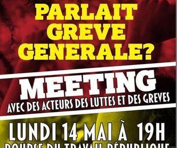 Frankrijk: Het gerucht van een algemene staking