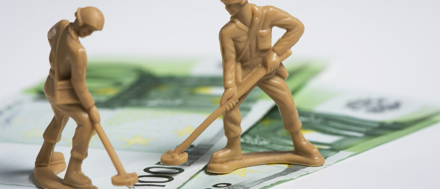 Militairen op missie verdienen onder het minimumloon