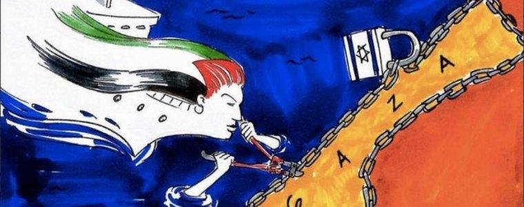 Freedom Flotilla doet Nederland aan op weg naar Gaza – The Rights Forum