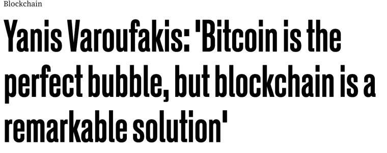Bitcoin, Blockchain and the Future of Europe – Interviewed by Tom Upchurch for WIRED