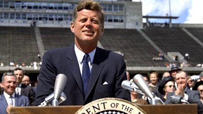 """John F. Kennedy on Nuclear War and the Threats to World Peace: """"Together we Shall Save our Planet, or We shall Perish in its Flames"""" 