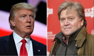 "The Donald Trump – Steve Bannon Feud. ""Fire and Fury Inside the Trump White House"""