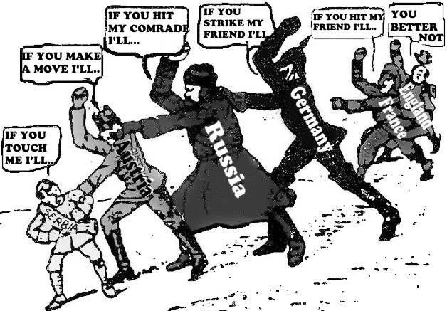 A Tangle of Alliances Started WW1 – They're Baaaaaack!