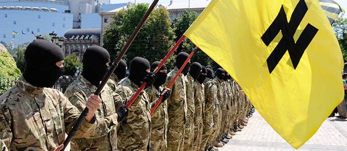 US Is Arming and Assisting Ukraine's Azov Neo-Nazis