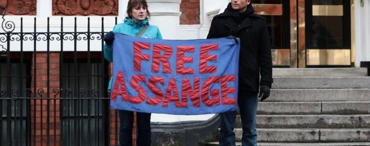 All Pretence is Over in Persecution of Assange