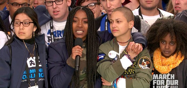 """""""One Life Is Worth All the Guns in the US"""": Students Demand End to Violence at March for Our Lives"""