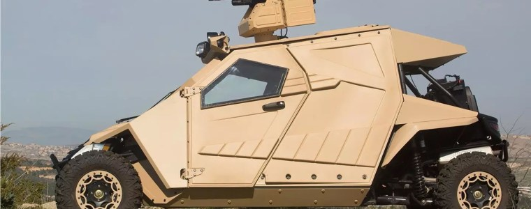 """This Is The Military """"Batmobile"""" That May Soon Be Protecting The US Border"""