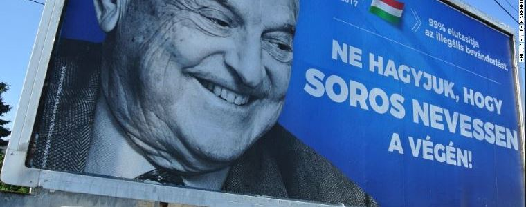 Hungarian Prime Minister Accuses George Soros Of Spreading Anti-Semitism Across Europe