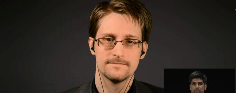 Das Edward Snowden Interview in München, dem die deutschen Medien keinerlei Aufmerksamkeit schenkten