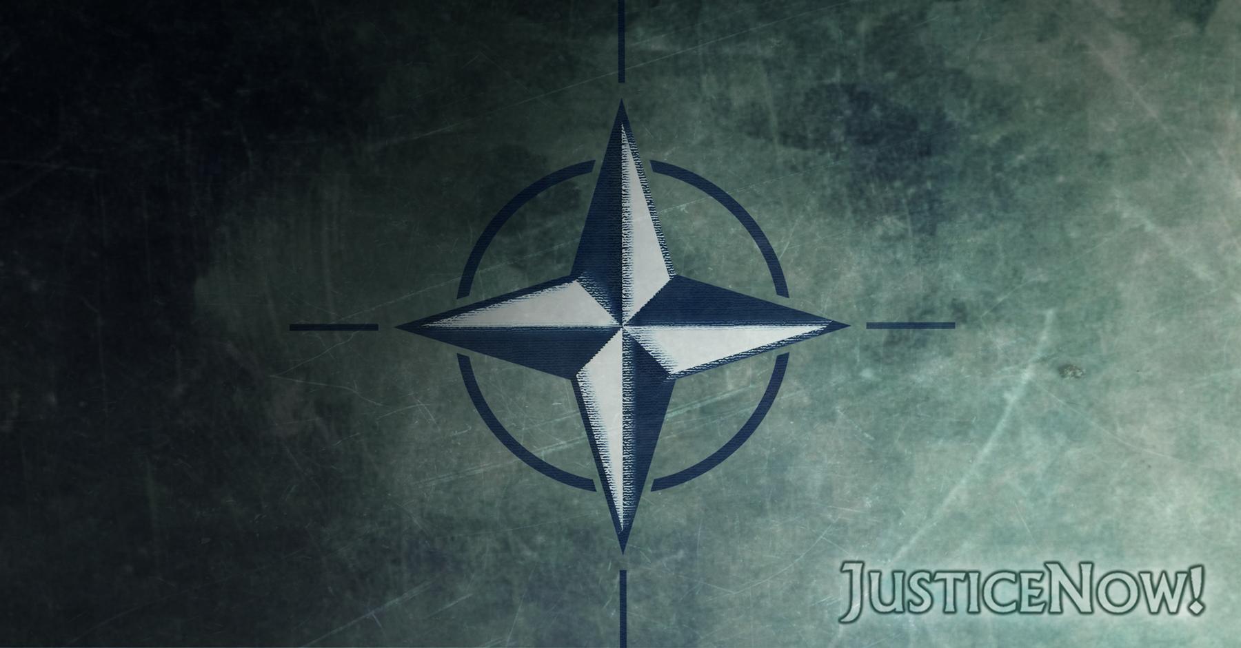 Die NATO. Eine Tragödie in drei Akten. – JusticeNow!