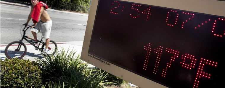 Record Heat-Wave Sends SoCal Electricity Prices Soaring