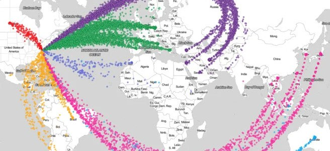 America's 'Gift' To The World: Visualizing 70 Years Of US Arms Exports