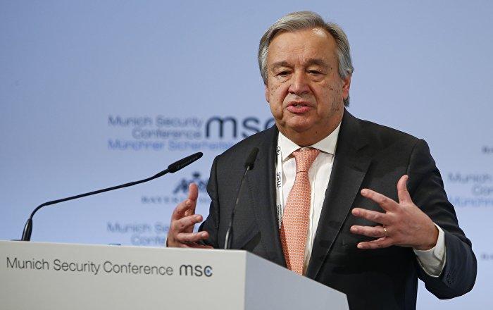 UN-Generalsekretär dankt Russland für Einsatz in Syrien