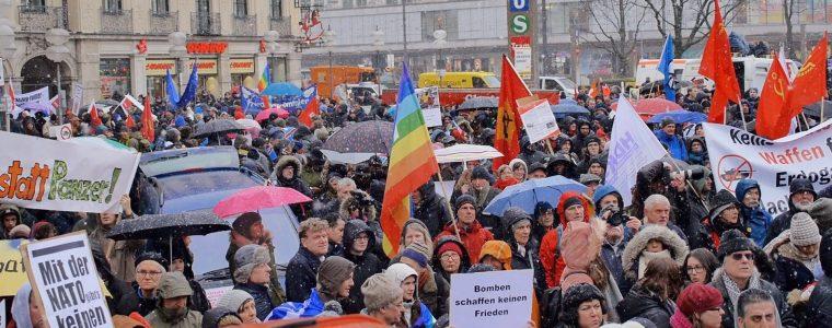 Reportage: Demonstration gegen die Münchner Sicherheitskonferenz