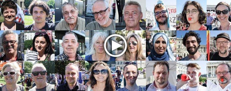 """""""Mehr als 3 Stunden um Mensch zu sein"""" – Über 100.000 Menschen gegen den 12-Stunden-Tag – Kontrast.at"""