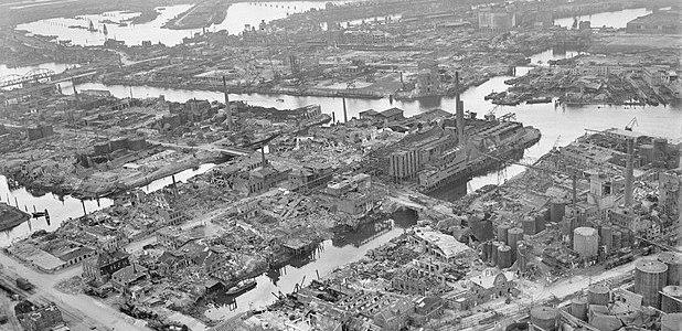 75 jaar geleden: Vuurstorm boven Hamburg