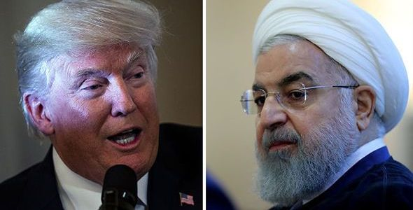 Trump says that he is willing to meet with Rouhani