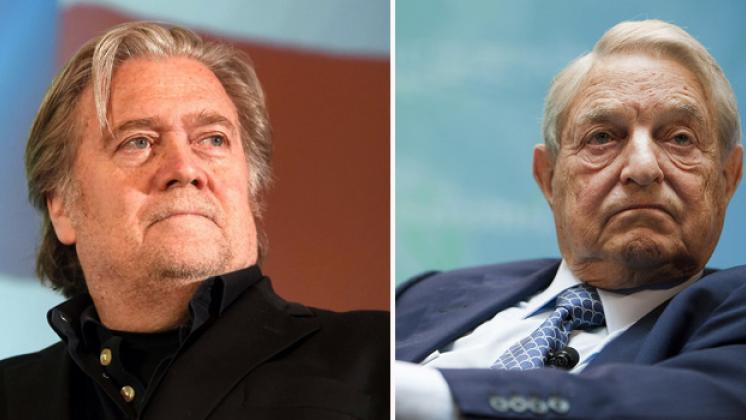Soros inspired petition aims at banning Steve Bannon from entering UK (Video)