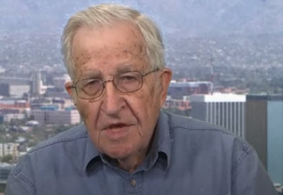 """Liberal Hero Chomsky Admits """"Israeli Intervention In US Elections Overwhelms Anything Russia Has Done"""""""