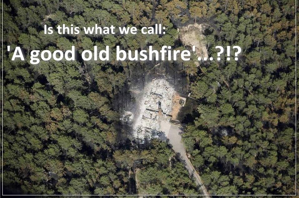Hoe 'high-tech' de California-branden worden aangestoken..!!