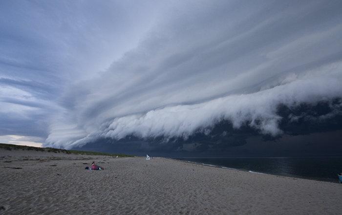 """""""Ich würde gleich beten"""": Horror-Wolken erschrecken Amerikaner"""
