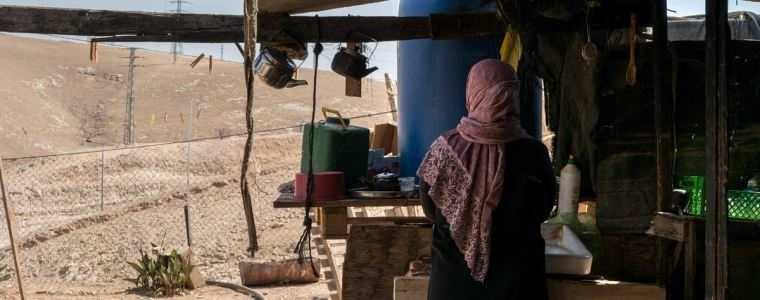 A Palestinian Bedouin Village Braces for Forcible Transfer as Israel Seeks to Split the West Bank in Half