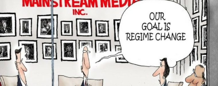 "To The US Media, A ""Regime"" Is Any Government At Odds With The US Empire"