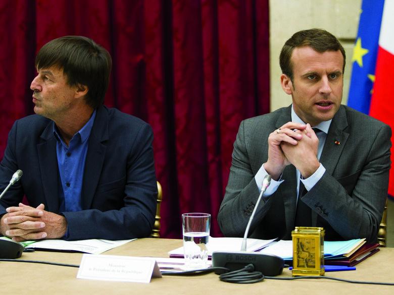 Macron verliest groen blaadje | Uitpers
