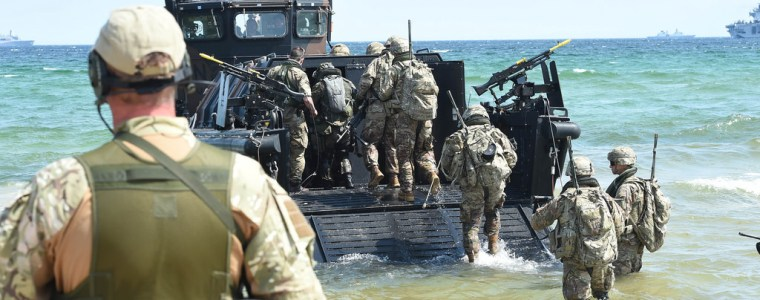 Marines Begin Amphibious Landing Exercises In Sweden Ahead Of Massive NATO War Games