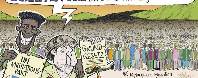 «Globaler Pakt für Migration» – Schwarz auf Weiss: Es gibt kein Zurück!