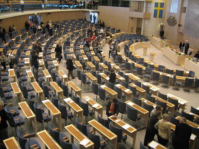 Patstelling in Zweedse Rijksdag