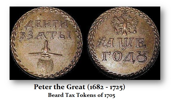 Really Crazy Taxes That Altered Society like the Beard Tax Creating Resistance & Status Symbols | Armstrong Economics