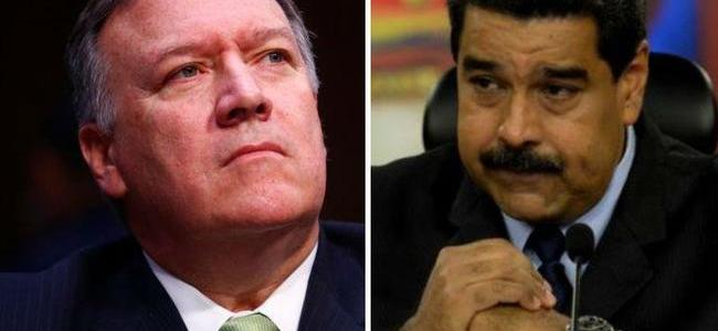"Pompeo Vows ""Series Of Actions"" Against Venezuela's Maduro ""In The Coming Days"""