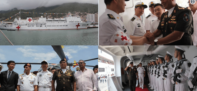 "China's ""Peace Ark"" Ship Makes Historic Visit To Venezuela After Maduro Visits Beijing"